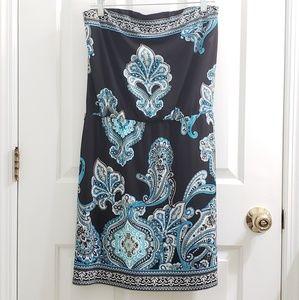 WHBM White House Black Market Strapless Dress